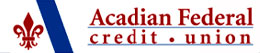 Acadian Federal Credit Union logo