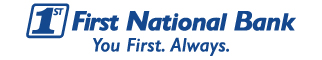 First National Bank'slogo