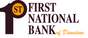 The First National Bank of Dennison'slogo