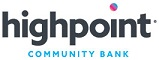 Highpoint Community Bank'slogo