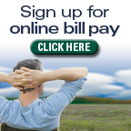 Sign Up for Online Bill Pay