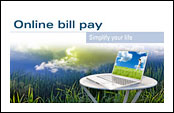Click here to see a demo of Online Bill Pay!