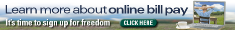 Online Bill Pay Banner
